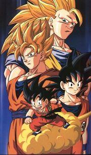 Goku in tutte le sue apparizioni