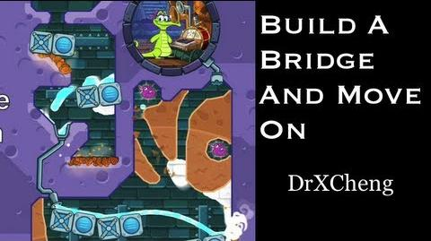 Build a Bridge and Move On - Where's My Water? (Levels of the Week) Walkthrough HD