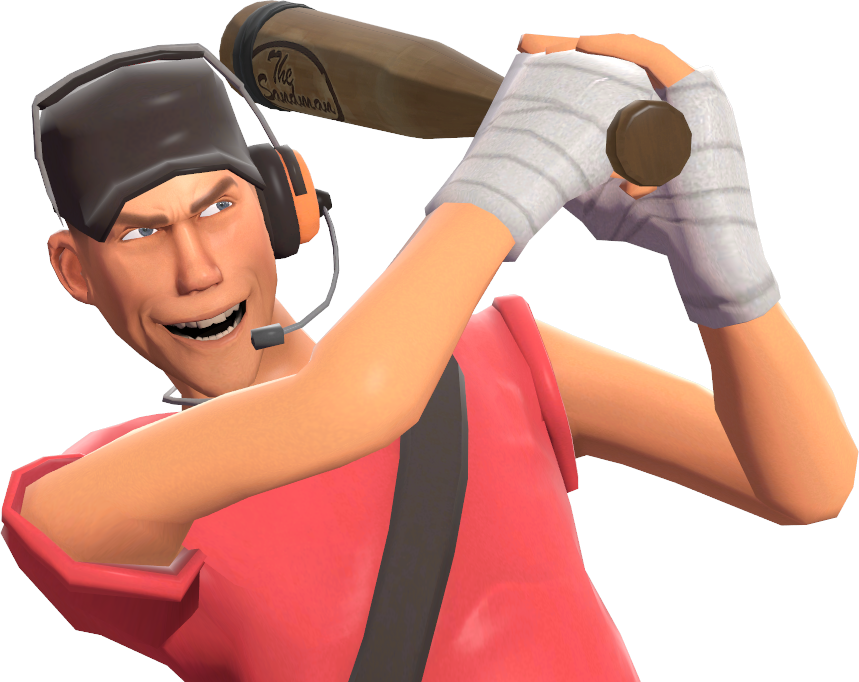 Image - Scout doing the Home Run taunt TF2.png - Team ...