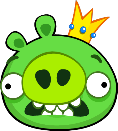 Image Scaredkingpigpng Angry Birds Wiki