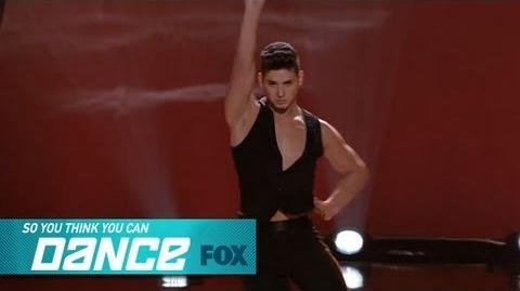 Alan Solo Top 16 Perform SO YOU THINK YOU CAN DANCE FOX BROADCASTING