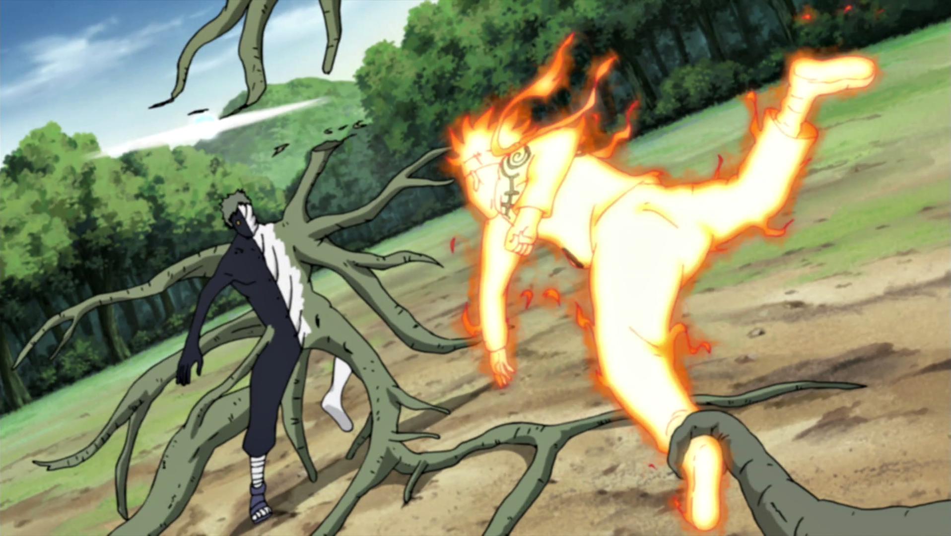 -- Joker -- Naruto_lutando_contra_o_Zetsu_Negro