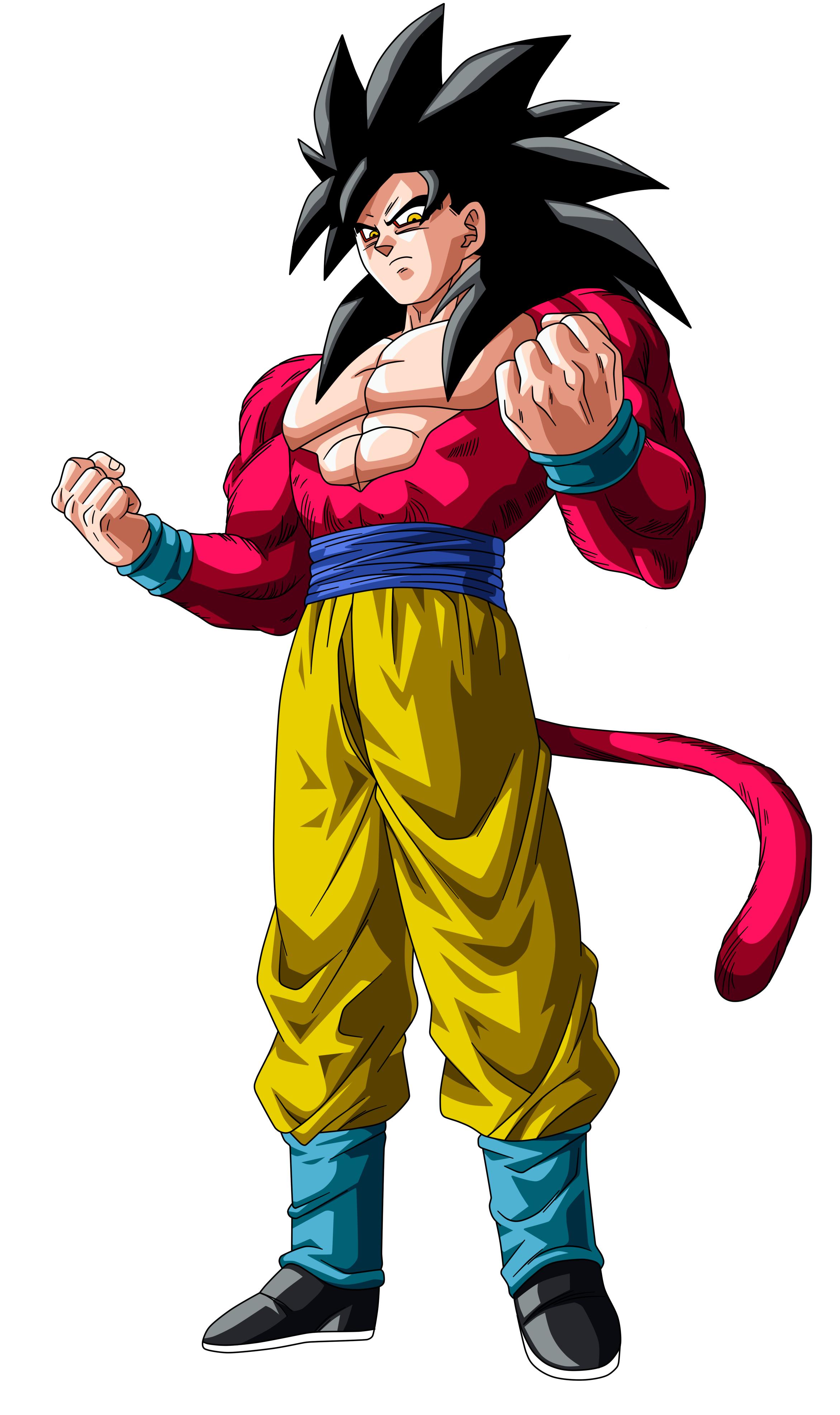 Goku super saiyan 4 - Goku super sayen ...