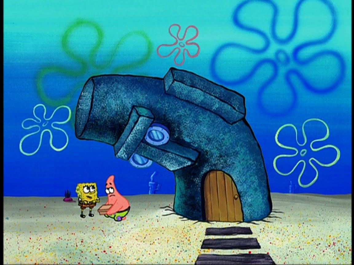 Squidward s house appears to have a mind of its own  usually to give a    Real Spongebob House