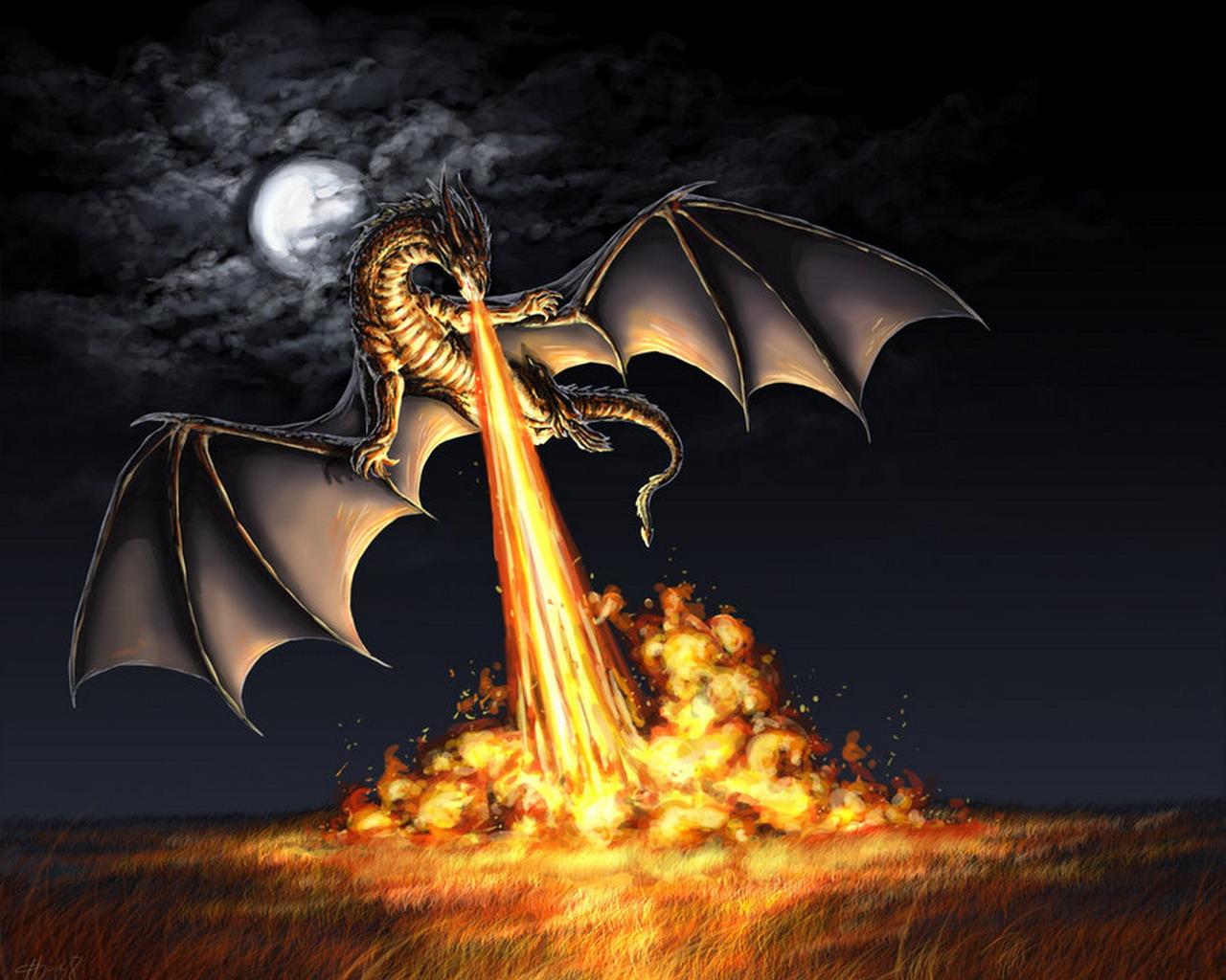 DragonFireballAttack