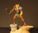Jackalman Mini Statue