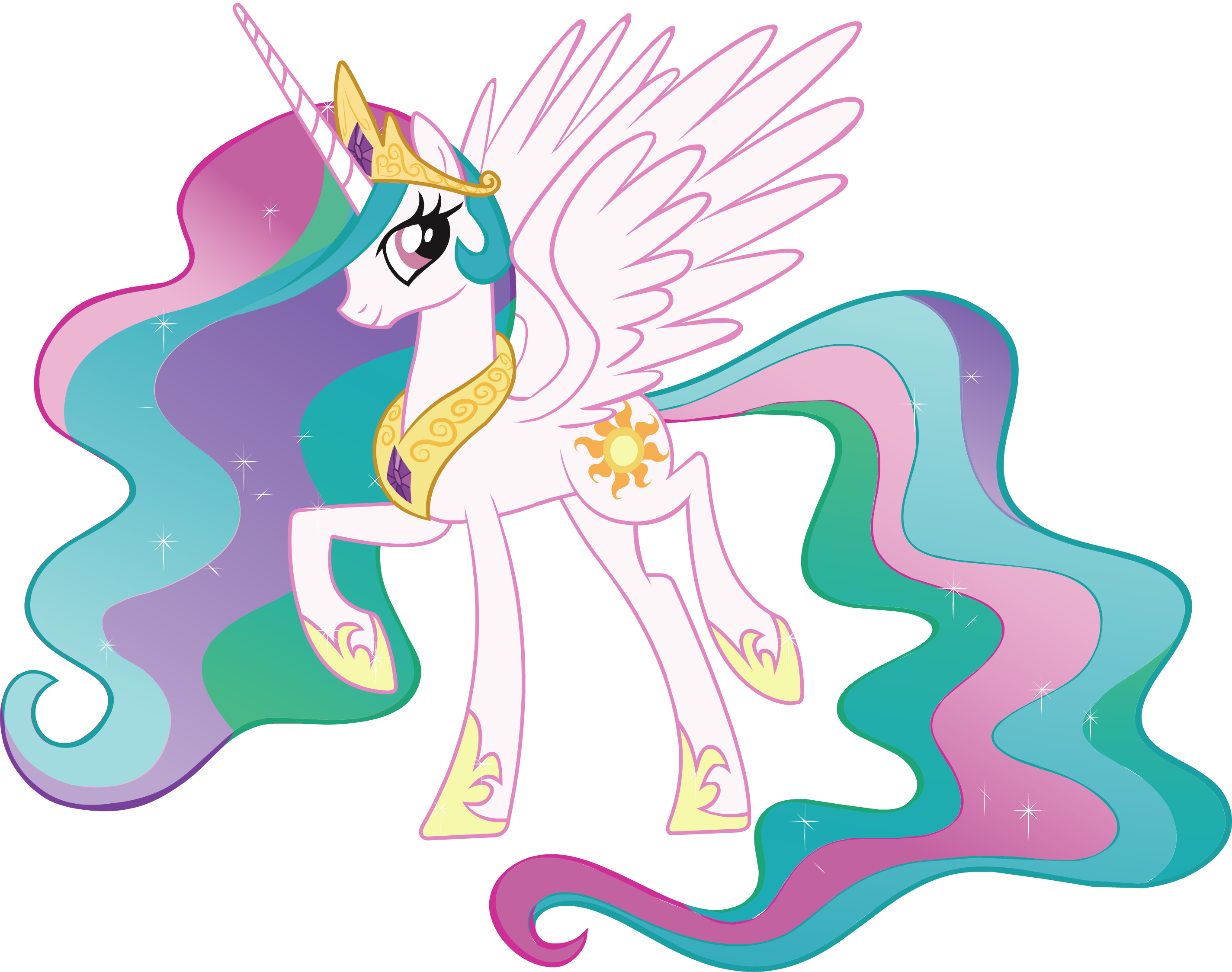 Princess celestia the my little pony gameloft wiki - Princesse poney ...