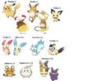 Pikachu-family Pokémon