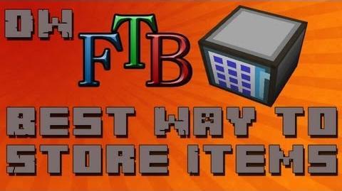 Best Way To Store Items In Feed The Beast (AE Storage) - Beginner Tutorial - Ep. 27-0