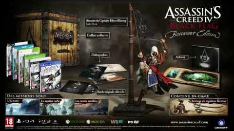 Assassin's Creed 4 Black Flag - Unboxing de l'Edition Buccaneer FR