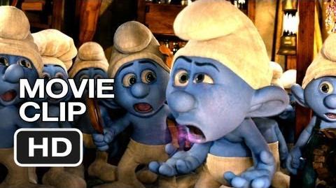 Passive Aggressive Smurf in the clip