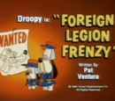 Foreign Legion Frenzy
