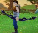 Archer's Wild Bow of Forbidden Magic