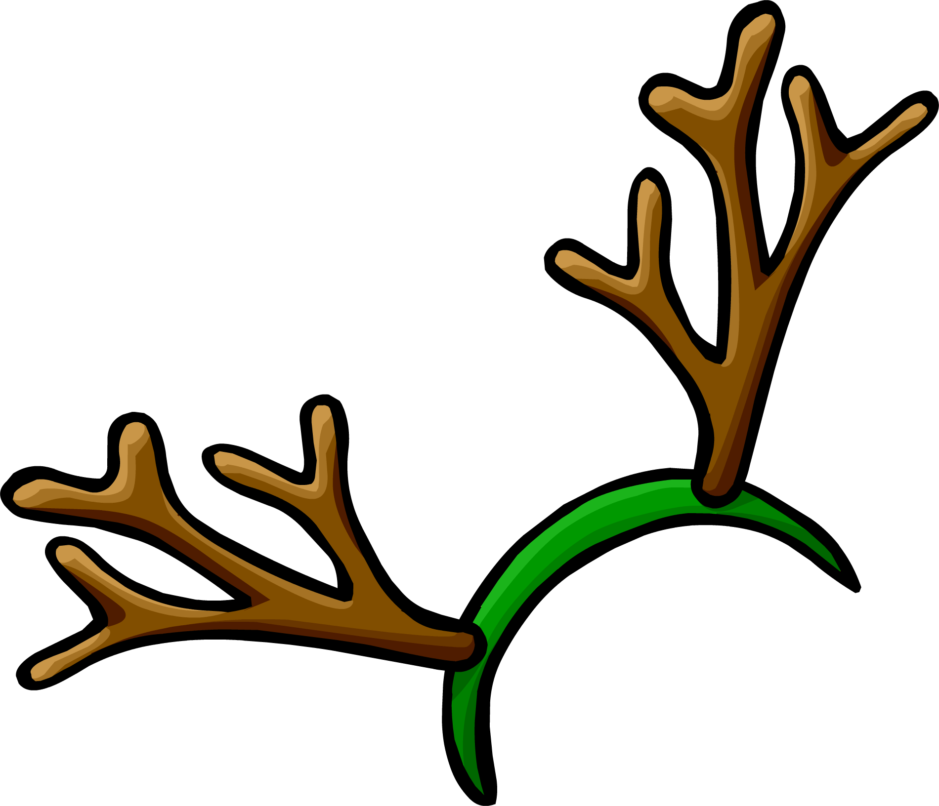 Displaying 20> Images For - Reindeer Antler Template...