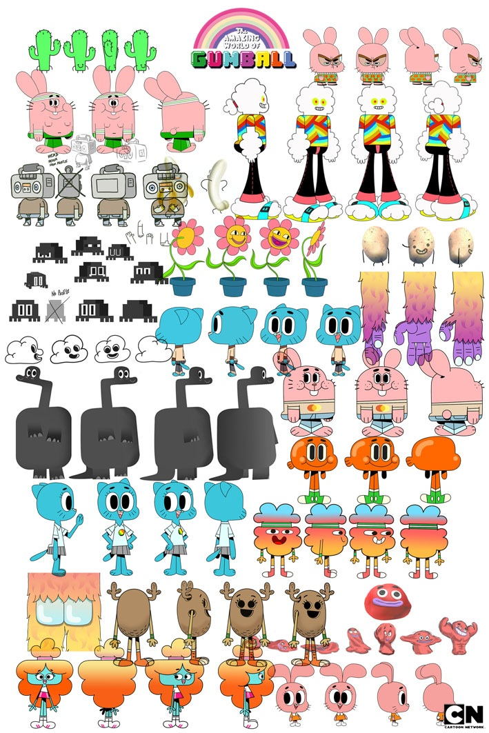 The Amazing World of Gumball The Wattersons  Characters  TV Tropes