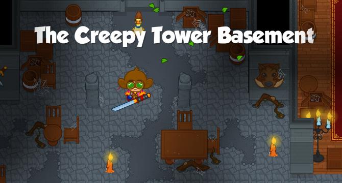 Creepy Tower The Creepy Tower Interior The Creepy Tower Basement The