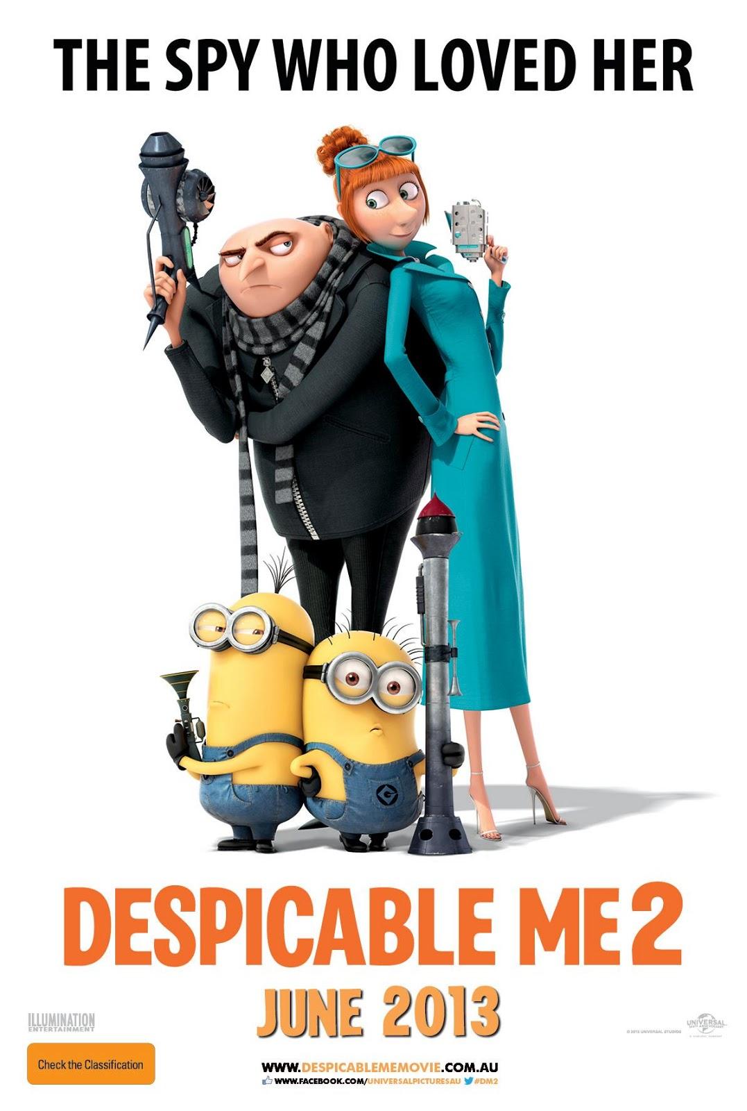 საზიზღარი მე 2 (ქართულად)  Despicable Me 2 Гадкий я 2