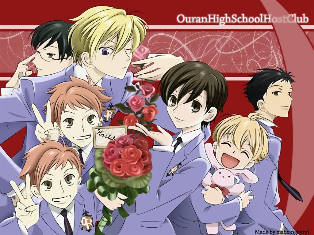 Ouran Highschool Host Club Kyoya Wallpaper