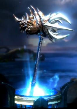 War Hammer of Poseidon - God of War Wiki - Ascension ...