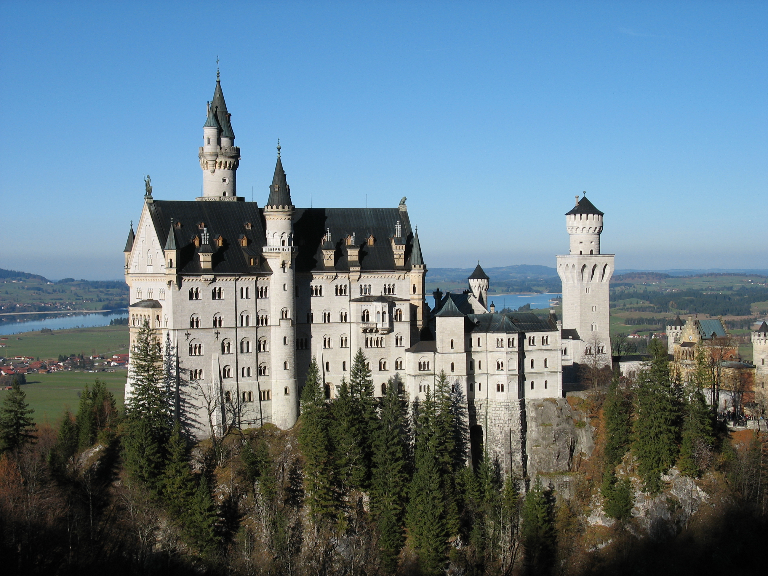 Castle Schwarzwald in better Castle