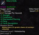 Orloc's Knife