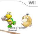 Koopa & Psyduck Baseball