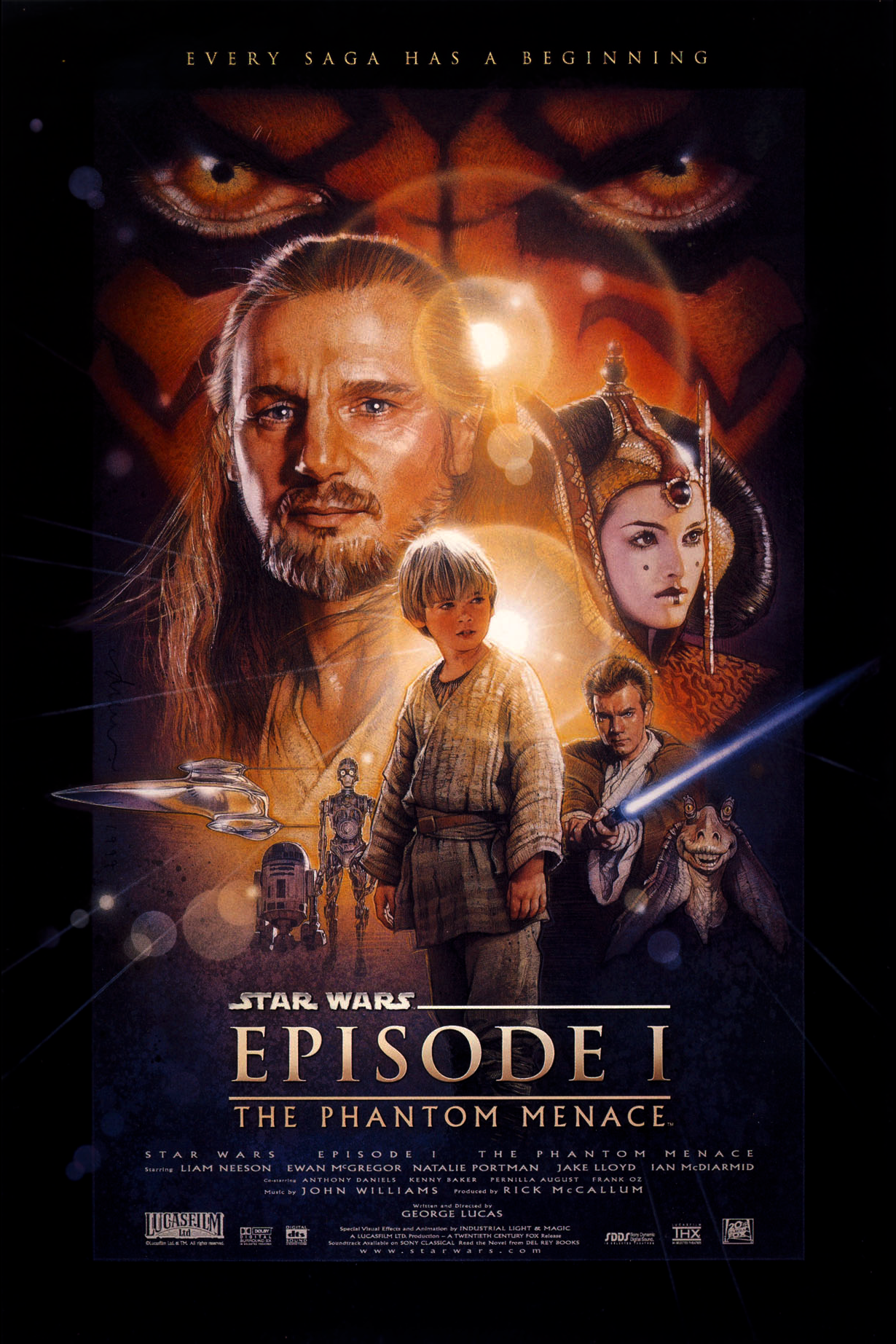Star Wars: Episode I (1999) Poster