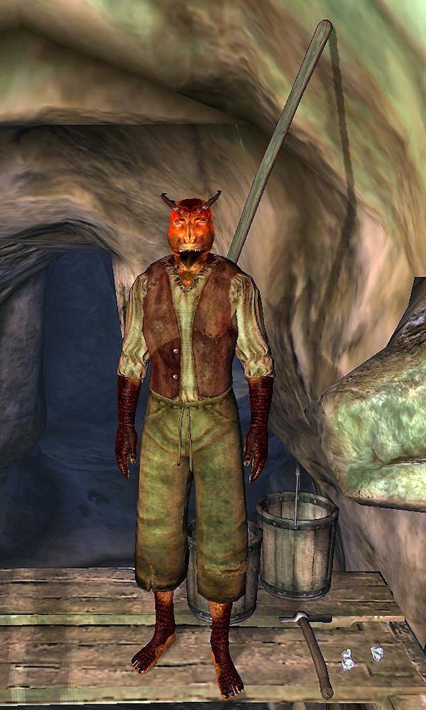 Argonian Laborer Elder Scrolls Wikia