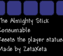 The Almighty Stick
