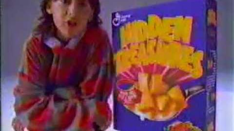Hidden Treasures Cereal (1994)