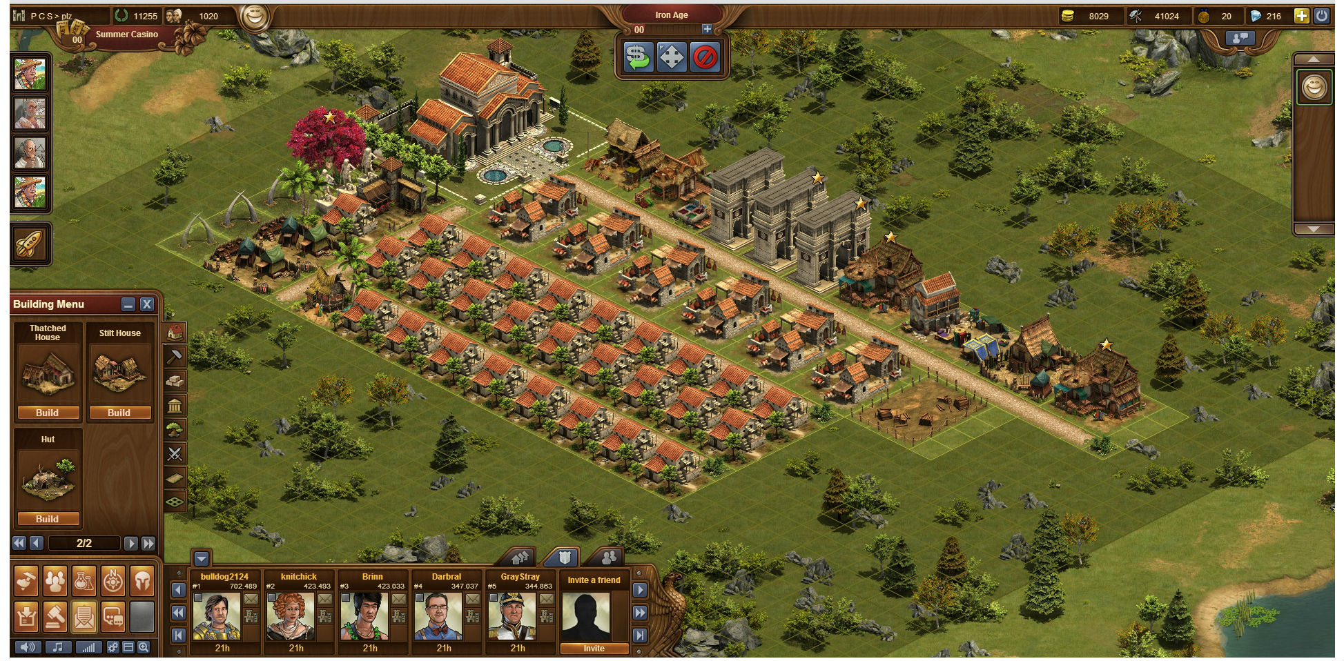 efficiency forge of empires wiki