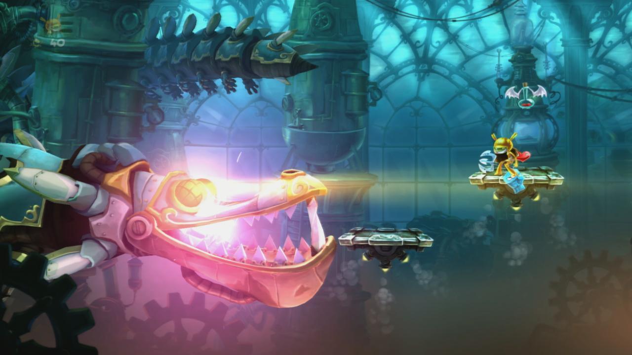 Rayman Legends Walkthrough 20,000 Lums Under the Sea - A Madman's Creation!