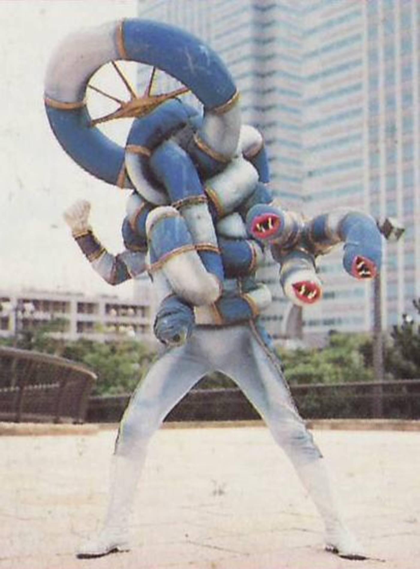 Tube Monster - RangerWiki - the Super Sentai and Power ... | 1401 x 1901 jpeg 147kB