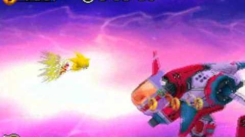 Sonic Rush Final boss