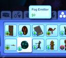 Fog emitter