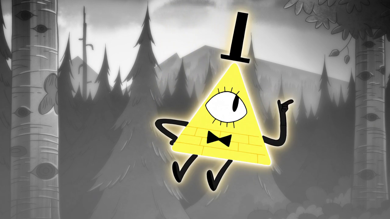 Bill Chipher from Gravity falls
