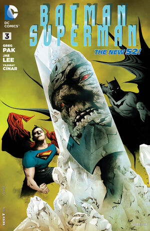 Cover for Batman/Superman #3 (2013)