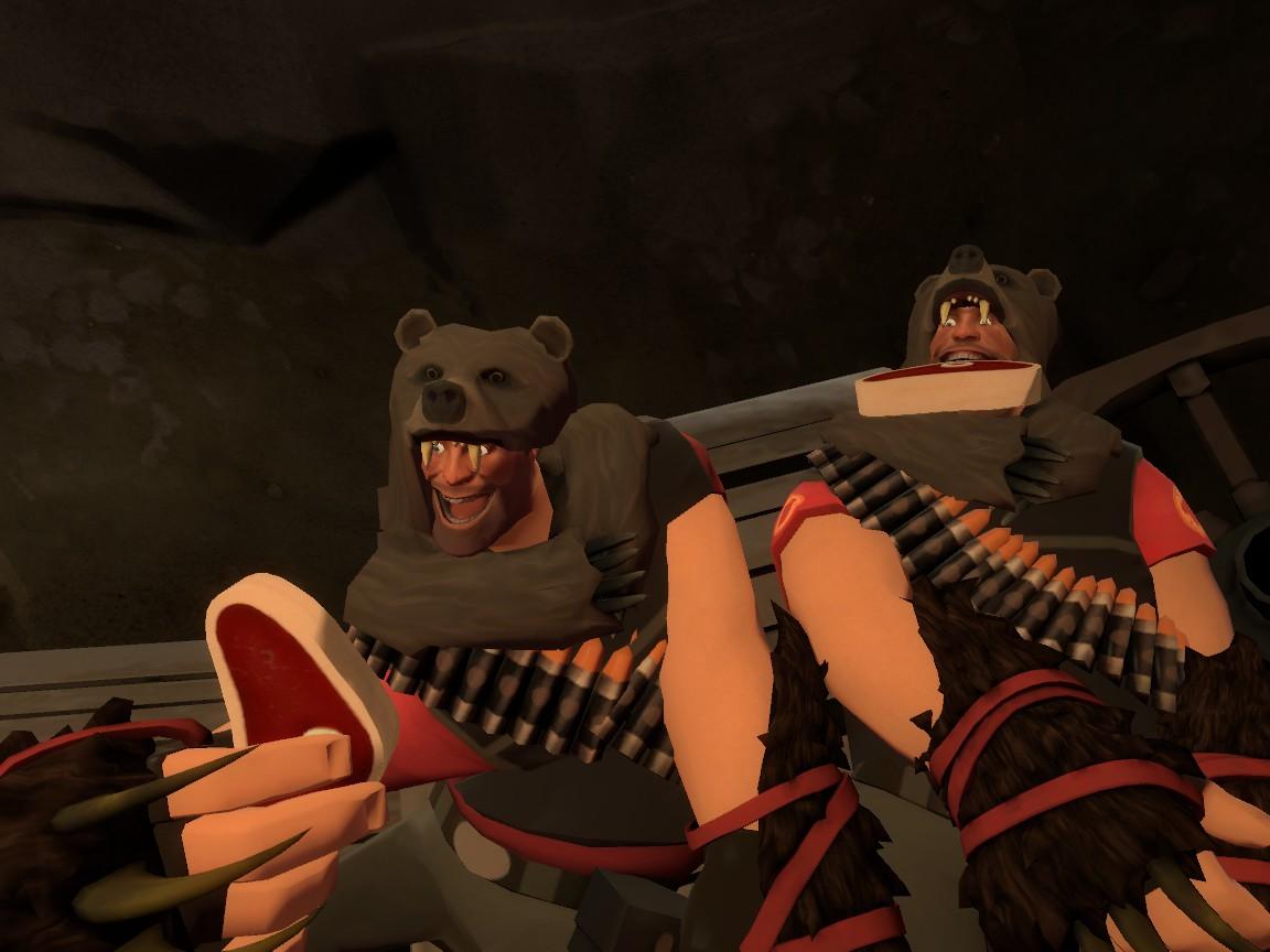 Heavy Bear - The Lazy Purple TF2-nimal Wiki