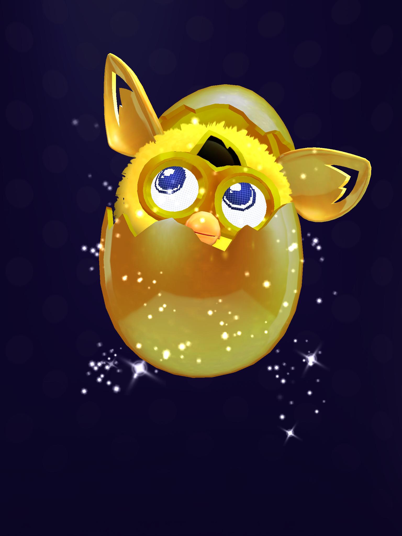 Furby Boom Golden Egg ...