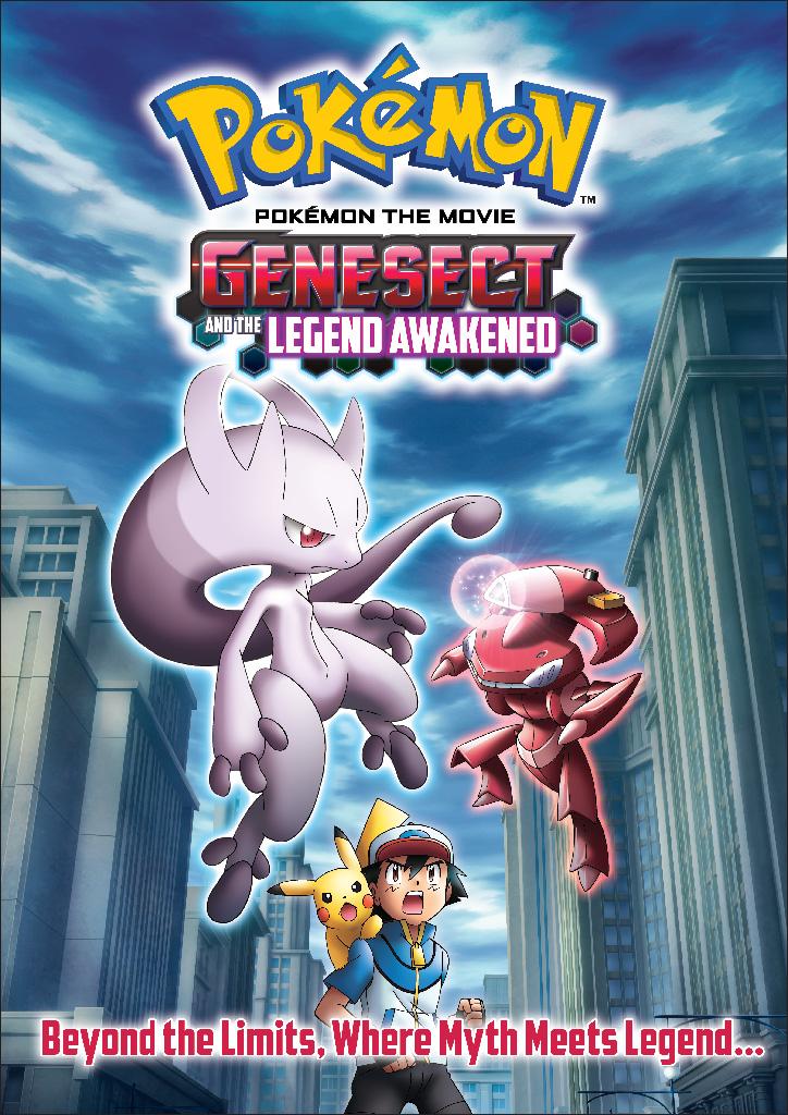 Pokemon: Genesect y El Despertar De Una Leyenda (2013) [DvdRip] [Latino]
