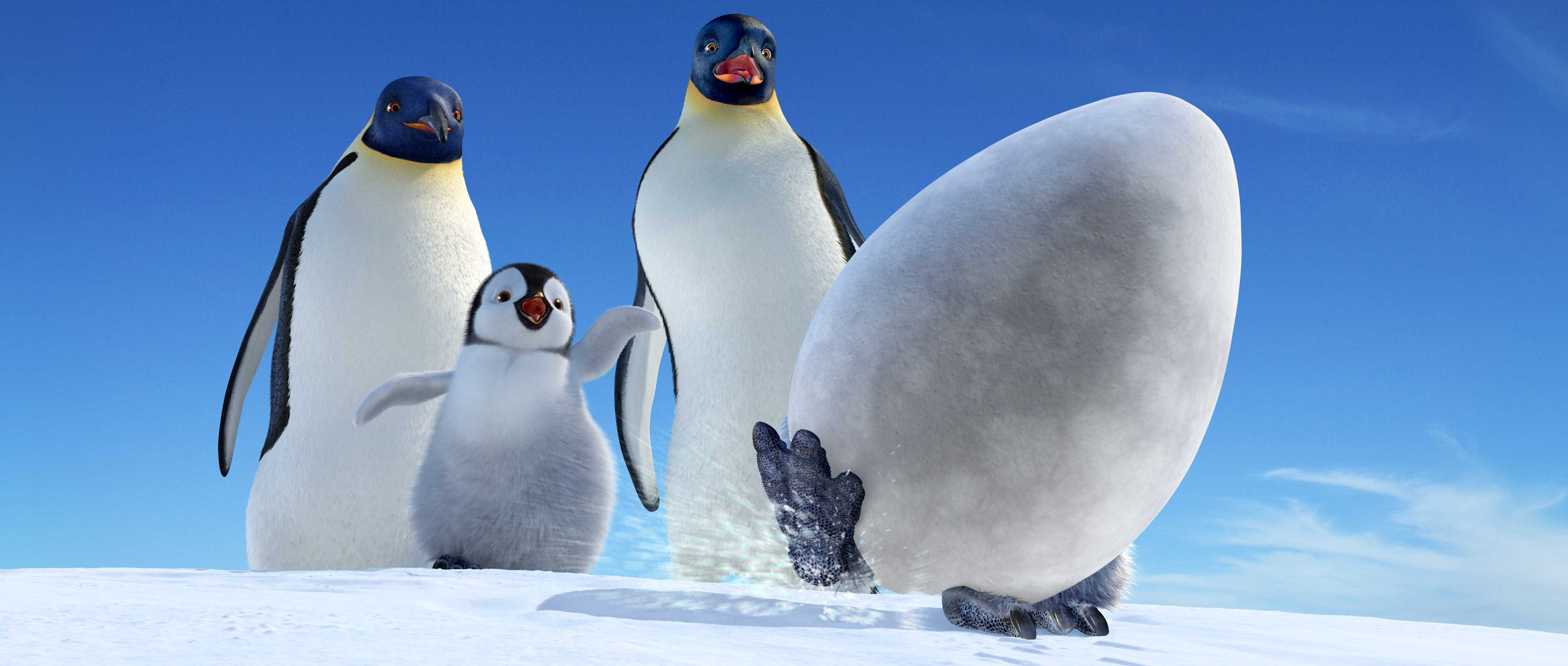 Happy Feet Mumble And Gloria Animation You know when I say