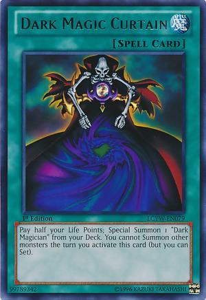 Dark Magic CurtainYugioh Sorcerer Of Dark Magic Deck