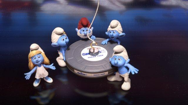 Smurfs 2 - America's Got Talent