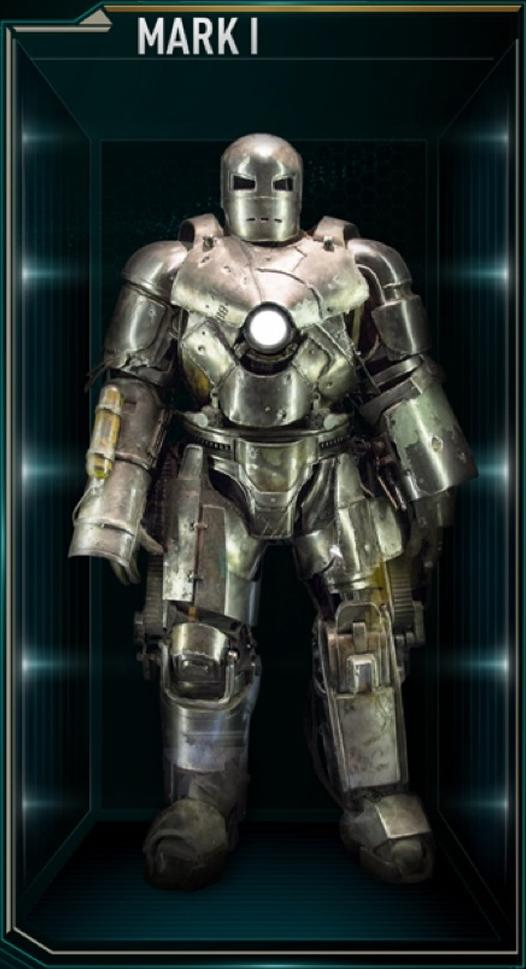 Iron Man Armor MK I (Earth-199999) - Marvel Comics Database