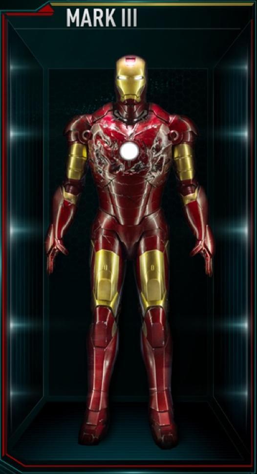 Iron Man Armor MK III (Earth-199999) - Marvel Comics Database