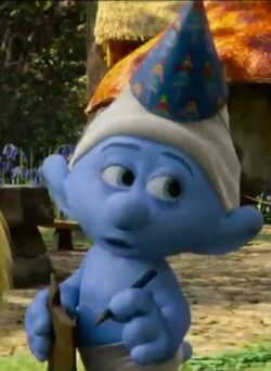 Party Planner Smurf