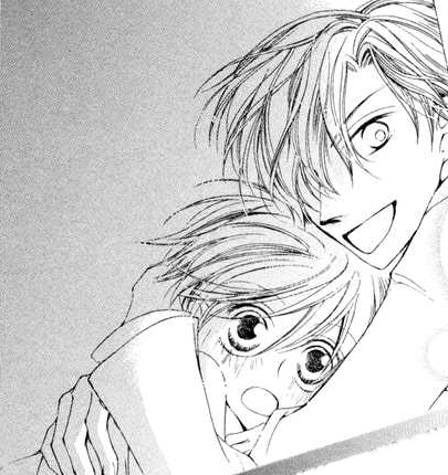 Chapter 2 - tamaki hugs haruhi pngHaruhi And Tamaki Hug