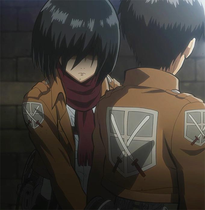 Mikasa s protective at...