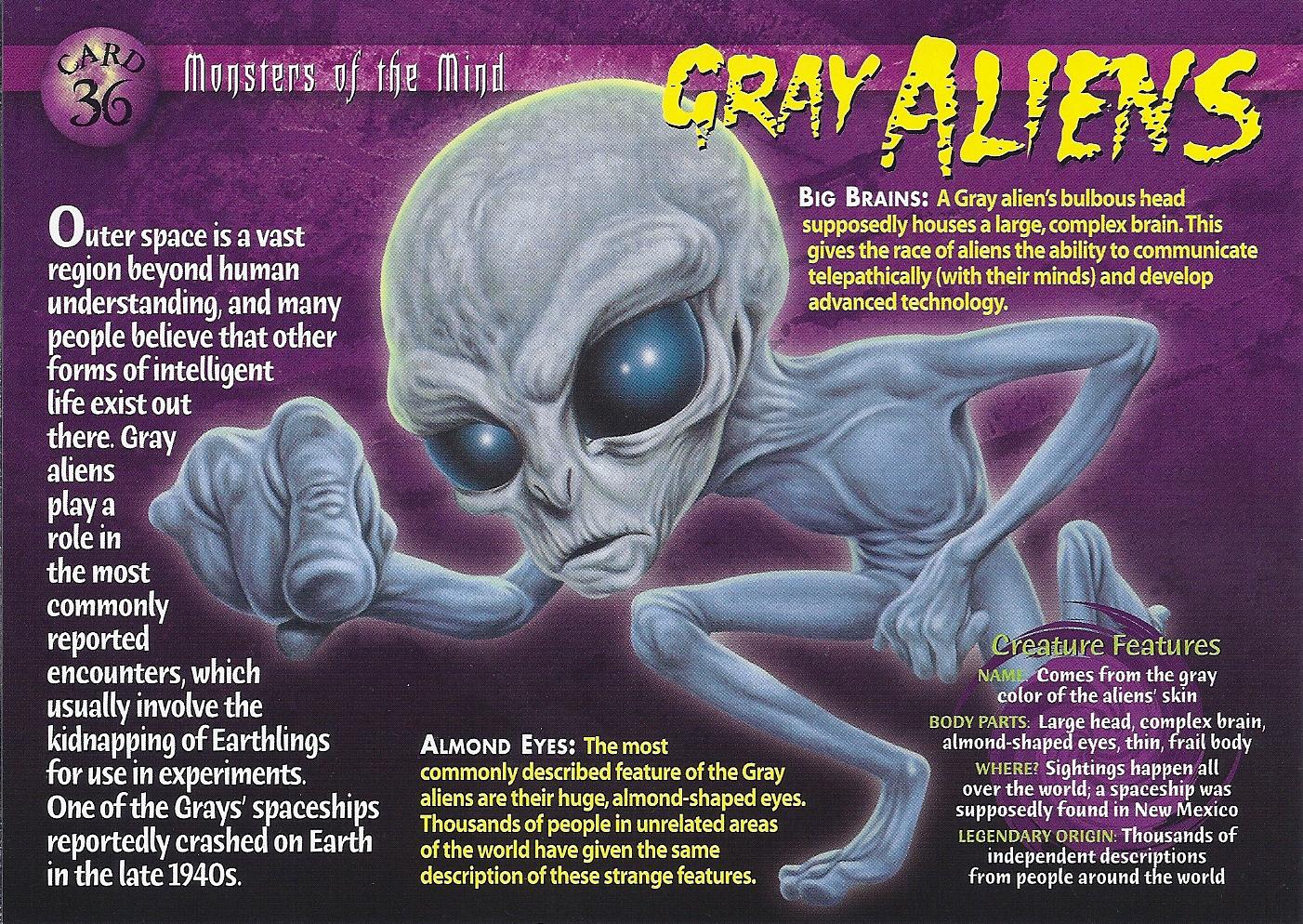 Gray Aliens Front