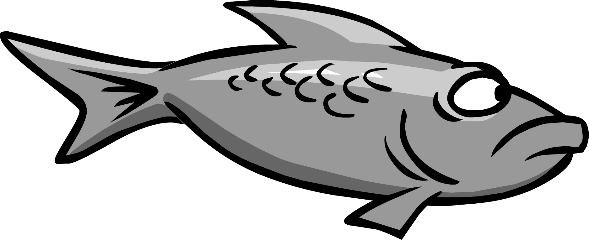 gray fish club penguin wiki the free  editable clipart skeleton coloring clipart skeleton head